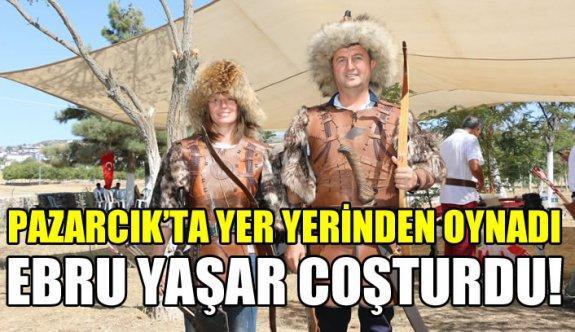 Ebru Yaşar'dan Pazarcık'ta Muhteşem Konser